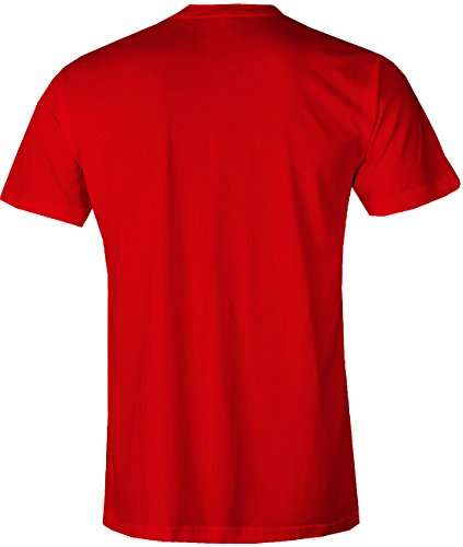 Bike Smiley – Fahrrad Hobby – HERREN T-SHIRT in Rot by Jayess Gr. M - 2