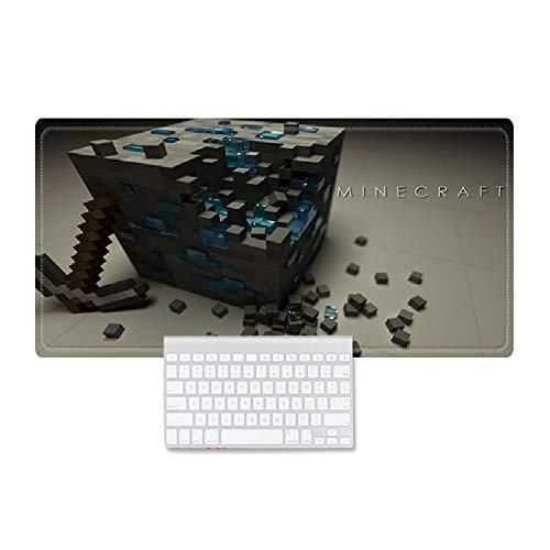 Tappetino Da Gaming,Alfombrilla De Escritorio para Computadora Portátil,Cubo De Rubik,Alfombrilla De Escritorio Impermeable para Oficina Y Hogar,350 * 250 * 3mm