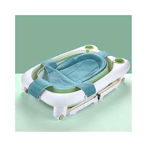 FHKL opvouwbare douchebak baby grote opvouwbare bad kan zitten en liggen zwemmen anti-slip Dumping Drainage gemakkelijk afronden geen krassen