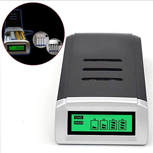 DDPP LCD 4-Slot-Schnellladegerät für AA/AAA NI-Cd NI-Mh-Akku