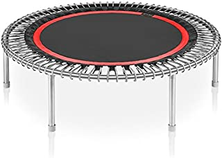 """bellicon Premium 49"""" Rebounder Trampoline with Fold-up Legs - Made in Germany - Best Bounce - 60 Day Online Workout Program Included"""