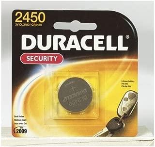 Duracell Lithium 3V 2450 Specialty Battery - Single Pack, Model# DL2450BPK