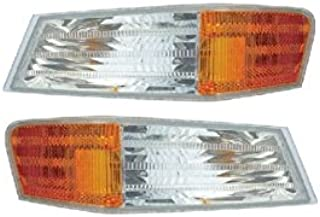 Parking Light Turn Signal Directional Lamp Front Pair Set for 07-14 Jeep Patriot