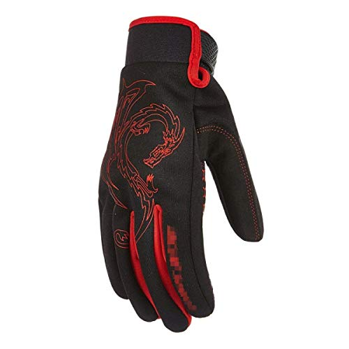 Gants De Moto Tactile À Été Écran Young Styles Four Seasons Racing Hommes Vélo Equitation Drop Gants Off Road (Color : 1, Size : One Size)