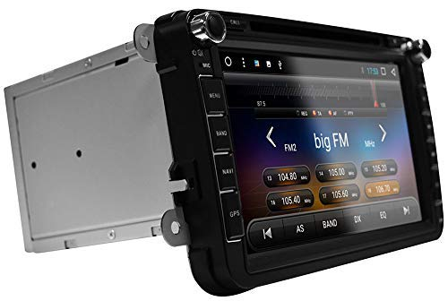 ESX VN815-VO-U1-DAB Autoradio Navigation Kompatibel für VW Golf 5, Golf 6, EOS, Polo, Passat, Jetta, Caddy, Beetle, Touran, Tiguan, Scirocco, Sharan, Amarok, T5