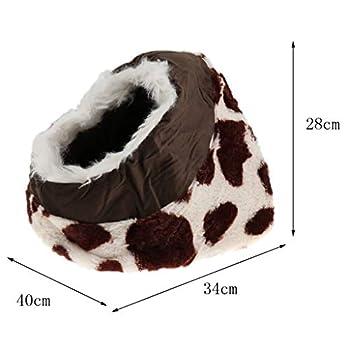 Homyl Couchage Pliable Intérieur et Extérieur Portable Foldable Cat Room Lit Couchage Mobilier pour Chiot