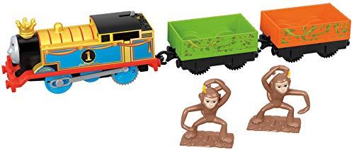 Thomas & seine Freunde FXX55 - Trackmaster Monkey Mania Thomas Lok