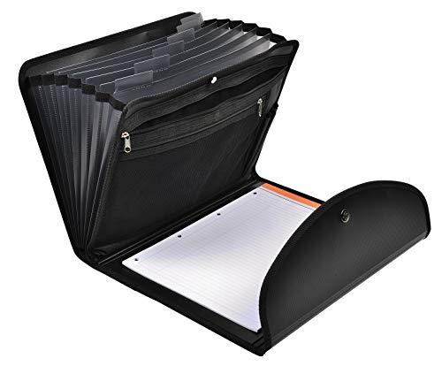 Exacompta エグザフォリオ ファイル メモパッド 書類入れ A4 7分類 フランス製 55834E