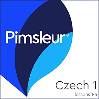 Czech Phase 1, Unit 01-05 audiobook cover art