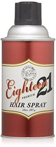 18.21 Man Made Premium Hair Spray for Men, 10 oz