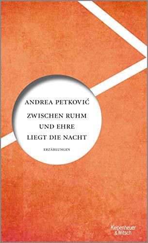 Buchseite und Rezensionen zu 'Zwischen Ruhm und Ehre liegt die Nacht' von Andrea Petković