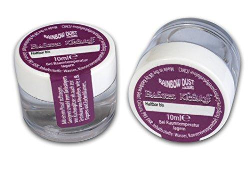 bakeryteam Rainbow Dust essbarer Lebensmittelkleber Set (2 x 10 ml)
