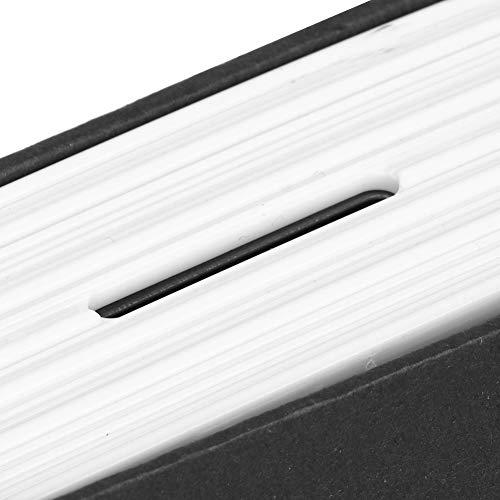 Caja de bloqueo de seguridad, caja de seguridad de apariencia de libro mini con dos llaves para adultos para tarjeta bancaria