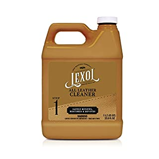 Lexol Leather Cleaner, 1 Liter, Best Cleaning and Conditioner Since 1933 - For Use on Apparel, Furniture, Auto Interiors, Shoes, Bags and More - Packaging May Vary (B000637TE6) | Amazon price tracker / tracking, Amazon price history charts, Amazon price watches, Amazon price drop alerts