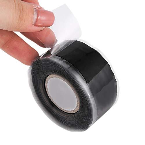 Zelfklevende siliconen-rubberen afdichtingsband, weerbestendig, multifunctioneel, voor coax-antenne, 2 stuks