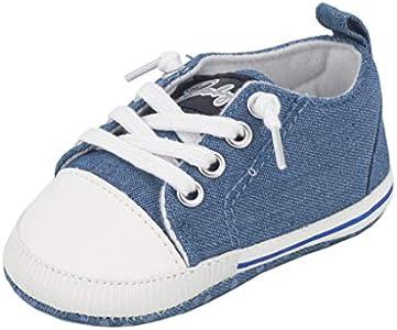 Zapatos para bebé Auxma La Zapatilla de Deporte Antideslizante del Zapato de Lona de la Zapatilla de Deporte para 3-6 6-12 12-18 M (3-6 M, Verde)