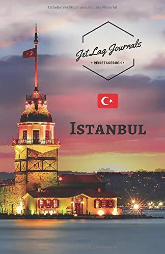 JetLagJournals • Reisetagebuch Istanbul: Erinnerungsbuch zum Ausfüllen | Reisetagebuch zum Selberschreiben für den Istanbul Trip