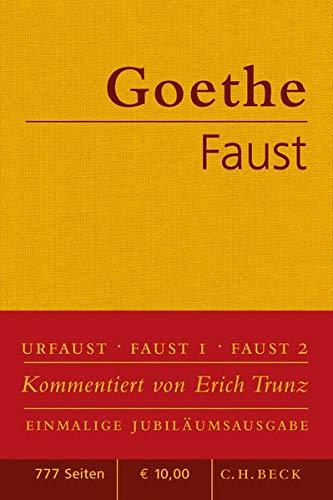 Faust Der Tragodie erster und zweiter Teil Urfaust