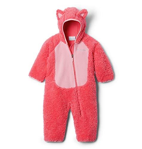 Columbia Foxy Baby, Combinaison Polaire Sherpa Mixte enfant, Rose (Bright Geranium, Pink Orchid), L (18/24 mois)