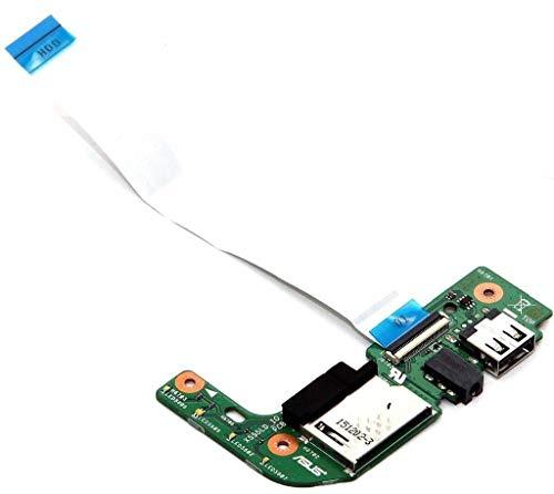 Compatible con Asus X555L X555LD Audio USB lector de tarjetas IO Board...