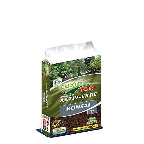 Cuxin Bio Bonsaierde 14 L ⎜Indoor und Outdoor ⎜mit NPK Dünger ⎜ Gute Drainage (2 x 7 L)