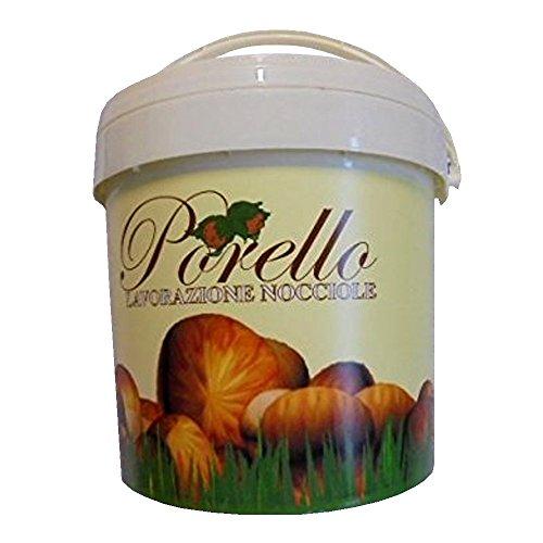KG 5 PASTA DI NOCCIOLE PIEMONTE GENTILE TRILOBATA PURA 100 % CHIARA NOCCIOLA HAZELNUT ICE CREAM CAKE