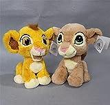 2 Piezas 20 Cm El Rey León El Simba Lindo Bebé León Niños Juguete De Peluche Regalo De Cumpleaños Muñeca Juguetes De Peluche Adecuados para Edades 0+