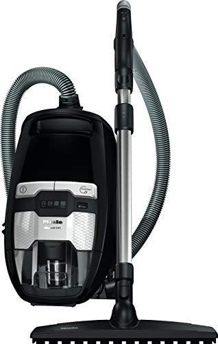 Miele Blizzard CX1 Comfort EcoLine Bodenstaubsauger (ohne Beutel, 2,5 l Staubbeutelvolumen, 550 Watt, 11 m Aktionsradius, inkl. Funk-Handgriffsteuerung, XL Parkettbürste und HEPA-Filter) schwarz