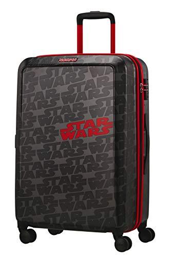 American Tourister Funlight Disney - Spinner M Maleta, 67 cm, 66 L, Gris (Star Wars Logo)