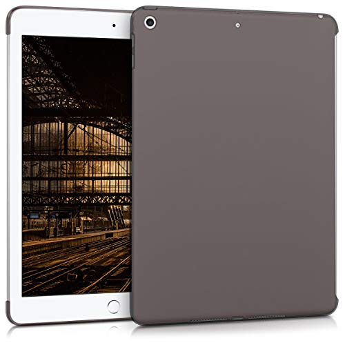 kwmobile Hülle kompatibel mit Apple iPad 9.7 (2017/2018) - Tablet Cover - Tab Case Silikon Schutzhülle in Schwarz Transparent