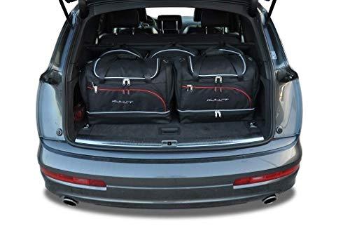 KJUST Dedizierte Reisetaschen 5 STK Set kompatibel mit Audi Q7 I 2005-2015