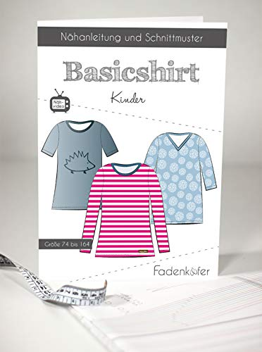 Schnittmuster und Nähanleitung - Kinder Shirt - Basicshirt