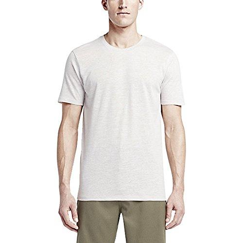 Hurley - Staple Tri-Blend Premium-T-Shirt der Männer, XX-Large, Birch Heather