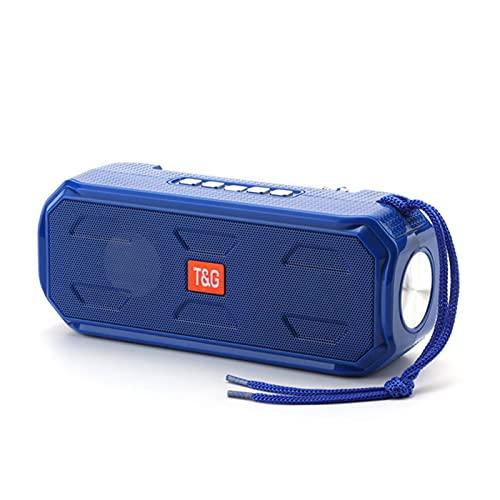 WUBAILI Altavoz Bluetooth Inalámbrico Solar 2021 con Linterna Brillante Y Radio FM, Ranura para Tarjeta TF, para Supervivencia En Acampada Al Aire Libre