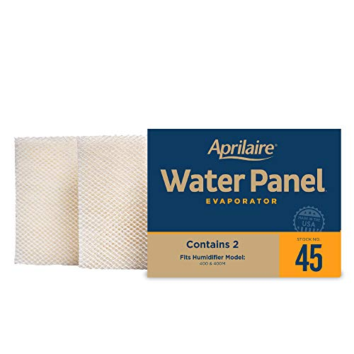 Aprilaire - 45 A2 45 Replacement Water Panel for Whole House Humidifier Models 400, 400A, 400M (Pack of 2)
