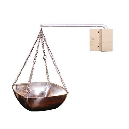 KiGoing Sauna Aromaöl Tasse - Sauna Ätherische Öle Zubehör, Edelstahl Ätherisches Öl Halter Schüssel für Sauna und Spa