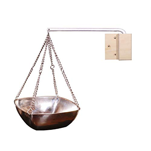 luckything Sauna Kupferschale Kräuterschale Sauna Zubehör, Edelstahl Sauna Schüssel Sauna Aromatherapie Öl Schalen Ätherisches Öl Duft Diffusor Für Sauna Und Spa, 2 Größen