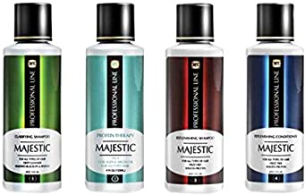 Majestic Protein Therapy Hair Treatment Complete Kit, 125 ml