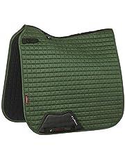 LeMieux Dressage Suede Square Hunter Green Saddle Pad, Unisex Adulto