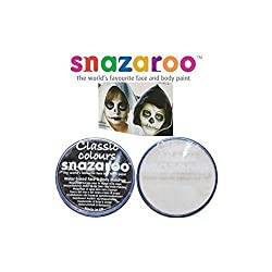 Snazaroo 18ml White and Black Face Paints 2 Tubs Supplied Great quality face paints Suitable for sensitive skin - Snazaroo face paints are formulated to be friendly to the delicate skin and are fragrance free Washable - Snazaroo face paints are all w...