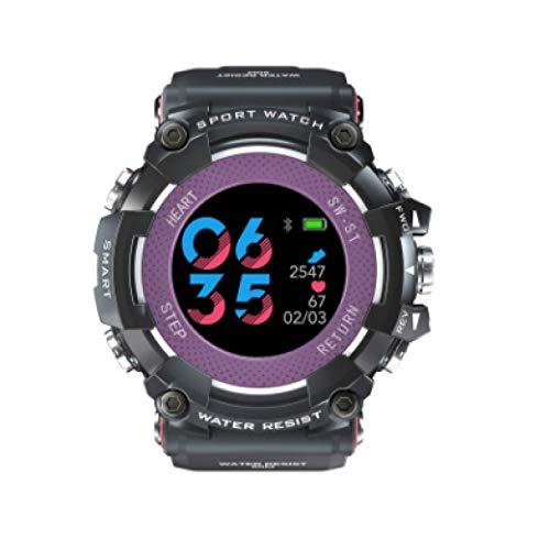Mk28 Smart Watch,Waterproof Screen Fitness Watch,with Heart Rate Monitor,Pedometer,Sleep Monitor,Silent Alarm Clock,Super Battery Life,Slim Smart Bracelet Women