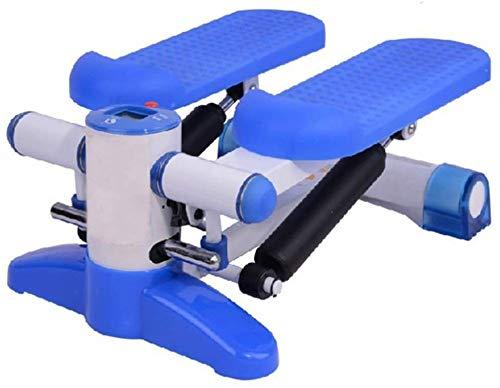 FLYT - Multifuncional de brazo para máquinas adelgazante, correr, ejercicio, ejercicio, piernas, pedales, mini bike, alfombra enrollable con cordón de sujeción 1014 (color azul)