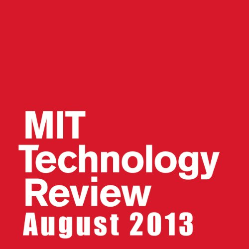 Audible Technology Review, August 2013 cover art