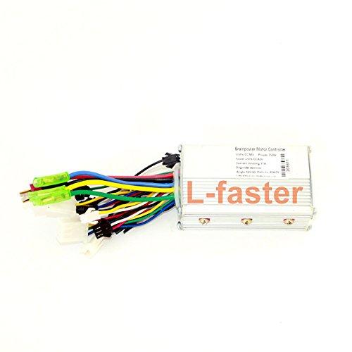 Controlador de motor eléctrico sin escobillas 24V36V48V 250W, para bicicleta eléctrica, escúter, panel de control para motor eléctrico, 24V
