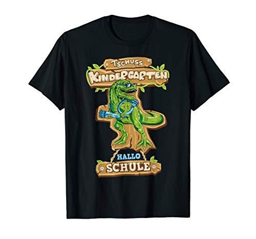 TRex Dinosaurier Einschulung Outfit 2019 Geschenk Jungen T-Shirt