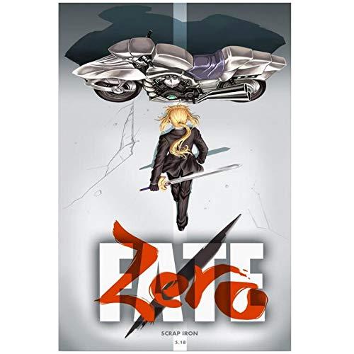 Zero Akira - Póster clásico para decoración de pared, 24 x 36...