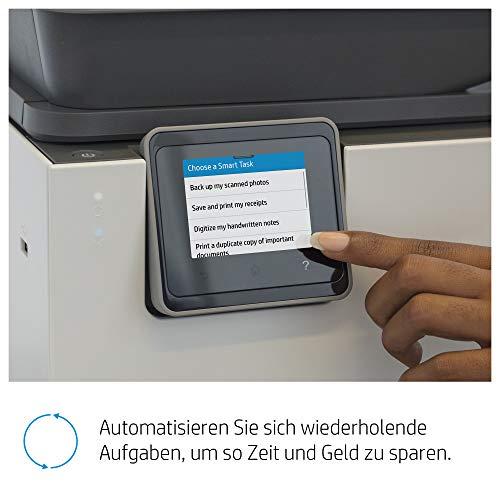 HP OfficeJet Pro 9010 Multifunktionsdrucker (HP Instant Ink, A4, Drucker, Scanner, Kopierer, Fax, WLAN, LAN, Duplex, HP ePrint, Airprint, mit 6 Probemonat HP Instant Ink Inklusive) Basalt