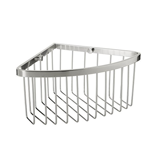 Tatay - Cesta Rinconera de Ducha o Bañera para la Pared. Fabricada Alumino. Medidas 20 x 11,5 x20 cm (An x L x Al). Material de Fijación Incluido.