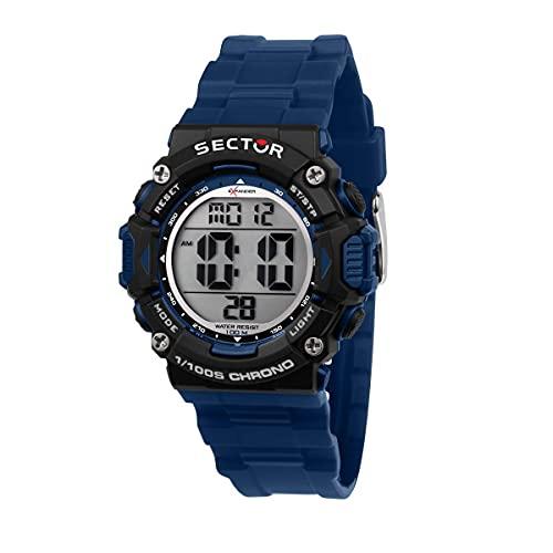 Sector No Limits Ex-32 Reloj Hombre, De Cuarzo, Digital - R3251544003