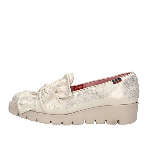 CALLAGHAN CallagHan Mokassin Schuhe mit Keil 89.839 Größe 36 Platinum